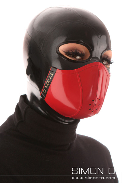 Mouth and nose protection made of thick latex - wearable on both sides The mouth and nose protector finds its shape by using very thick latex (approx. 1.5-2.0 …