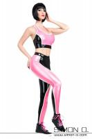 Vorschau: Latex Fitness Glanz Leggings Elastisches Latex bietet Dir besondere Bewegungsfreiheit, das feine Material ist nahezu nicht spürbar und gibt Dir ein ganz …