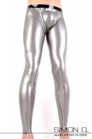 Vorschau: Herren Latex Leggings mit Codpiece Herren Legging aus 0.40 mm Latex mit Latexkondom, NS-Kondom oder Cockring hinter einem abnehmbaren Codpiece eingearbeitet. …