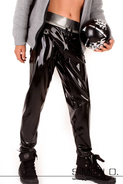 Men's fashionable jogging pants made out of our finest latex. Shiny and clingy with a super sexy wearing comfort that you've come to expect from …