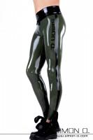 Vorschau: Latex Streetwear Leggings Herren Der hautenge Schnitt schmiegt sich perfekt an Hüfte und Beine - mit diesen Latex Streetwear Leggings kannst Du das …