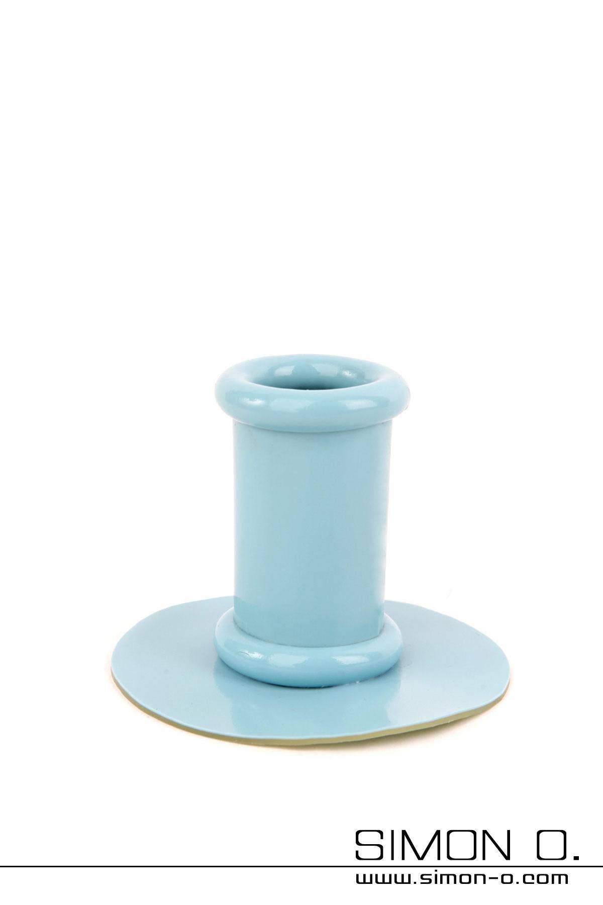 Einfarbiger Tubus - Halterung für Poytail Der Tubus ist der kleine runde Teil welcher das Haarteil aufnimmt. Er wird mit einer starken Latexplatte aus 2.5 mm …
