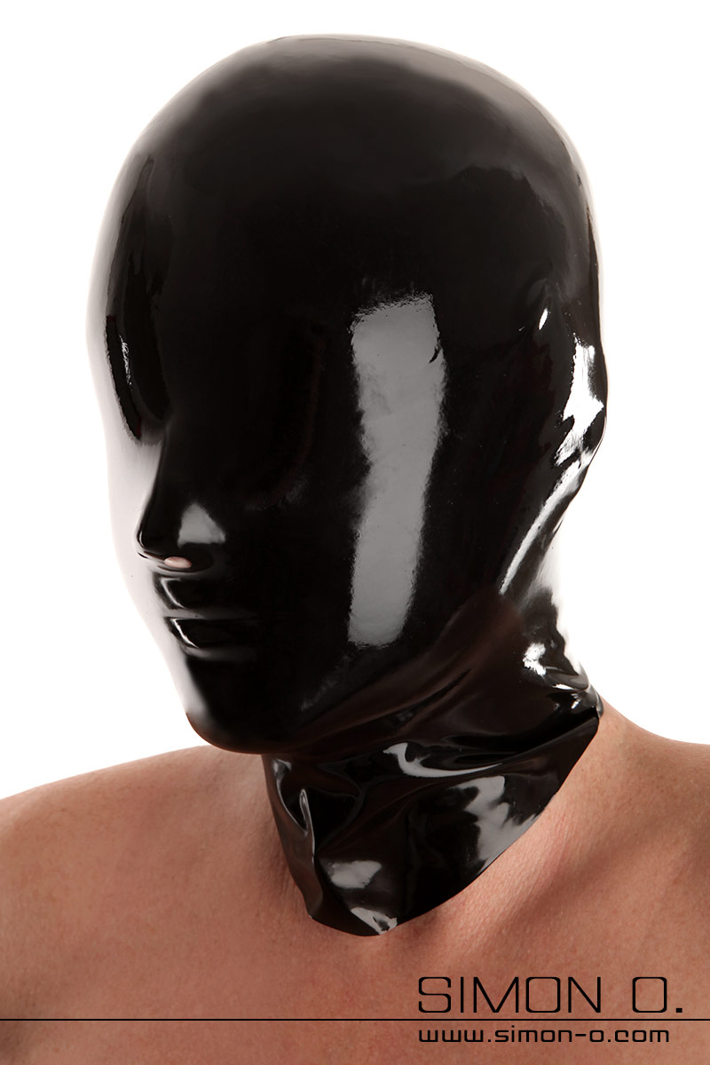 Seamlessly dipped latex hood including chlorination Without eyes and mouth opening. Made by Fetisso from the finest latex. Perfect for bizarre games with …