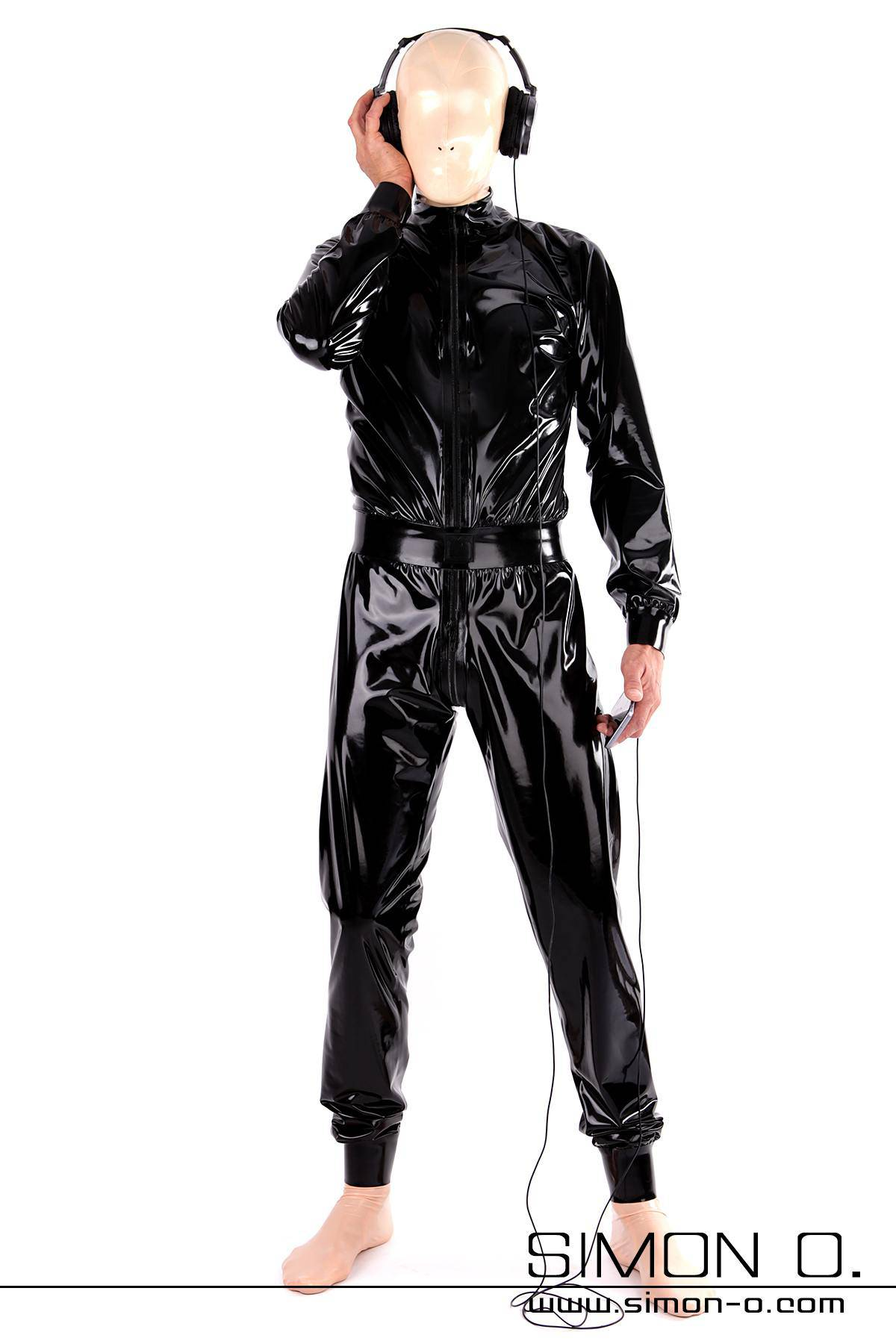 Pleasantly Loose Latex Suit For Men