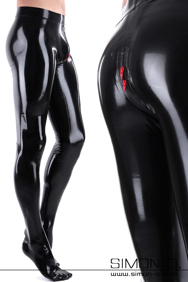 Feine Latex Strumpfhose für Herren Herren Latexstrumpfhose hauchdünn und zart. Auf Wunsch mit Zipp durch den Schritt. Die Strumpfhose wird aus 0.25 mm …