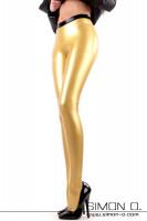 Vorschau: Latex Leggings mit Steg - fast schon eine Latexstrumpfhose Diese Variante der Latex Leggings ist mit unserem neuen Fußsteg ausgestattet. Der Steg ohne …