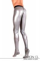 Vorschau: Hautenge Herren Latexstrumpfhose mit Zipp Ein Zipp im Analbereich oder ein Analkondom ist bei diesem Modell ebnefalls möglich.Der Bund dieser Latex …