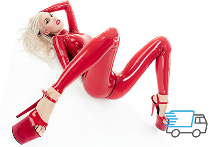 Express latex clothing for boys and girls