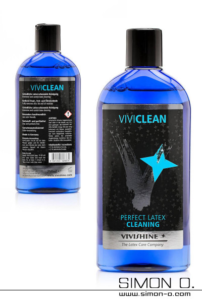 Latex hygiene cleaning agent by Vivishine