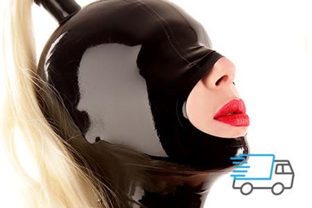 Latex Masken mit Express Lieferung