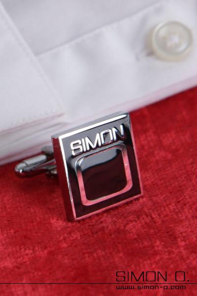 Manschettenknöpfe mit dezentem Simon O. Logo für den täglichen Gebrauch oder einen eleganten Anlass Egal ob Latex Hemd, Latex Bluse oder Stoff Hemd, …