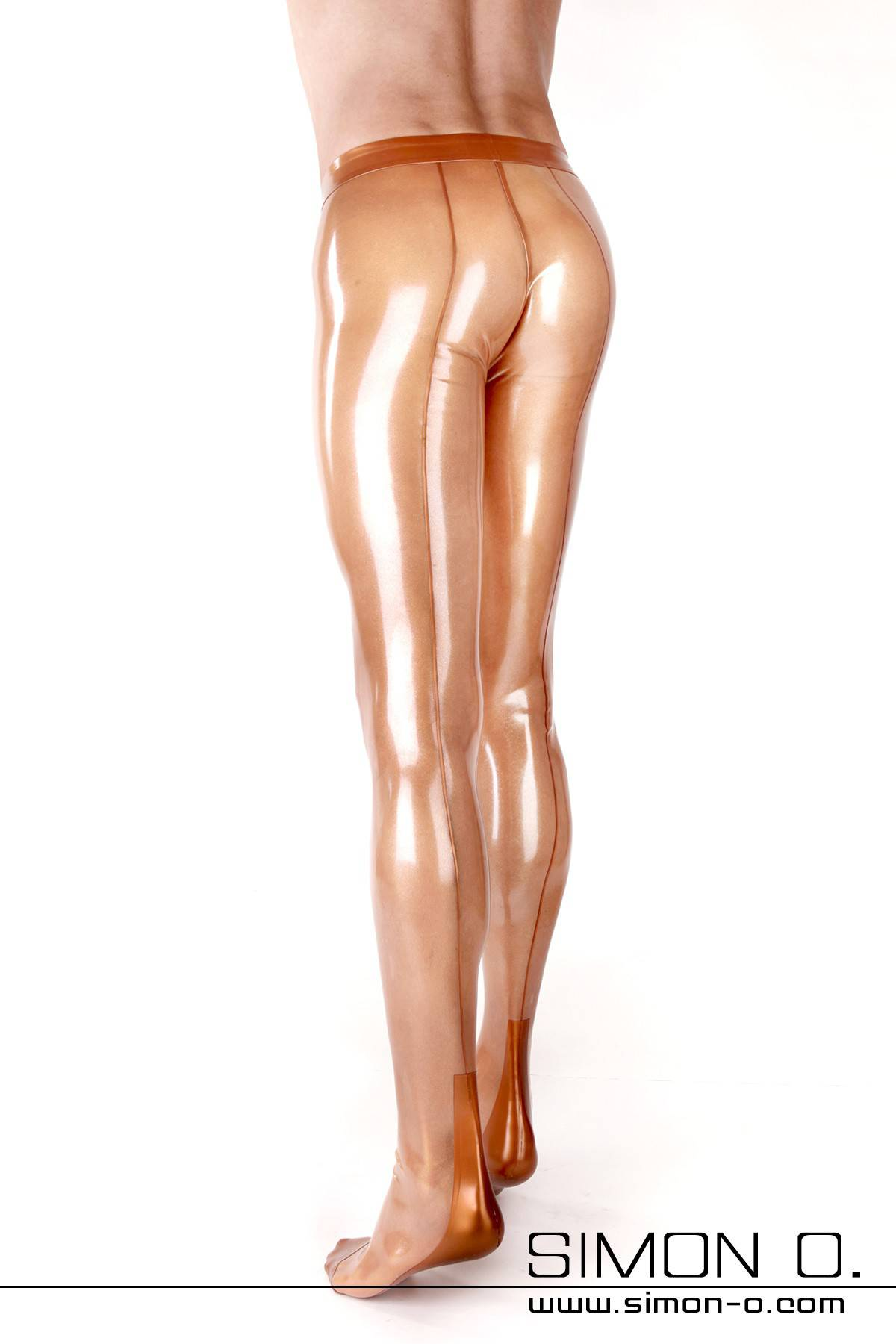 Skin Tight Latex Tights with Seam and Cuban Heel Practical fly front with a zipper in the anal area or an anal condom is configurable with this model. The …
