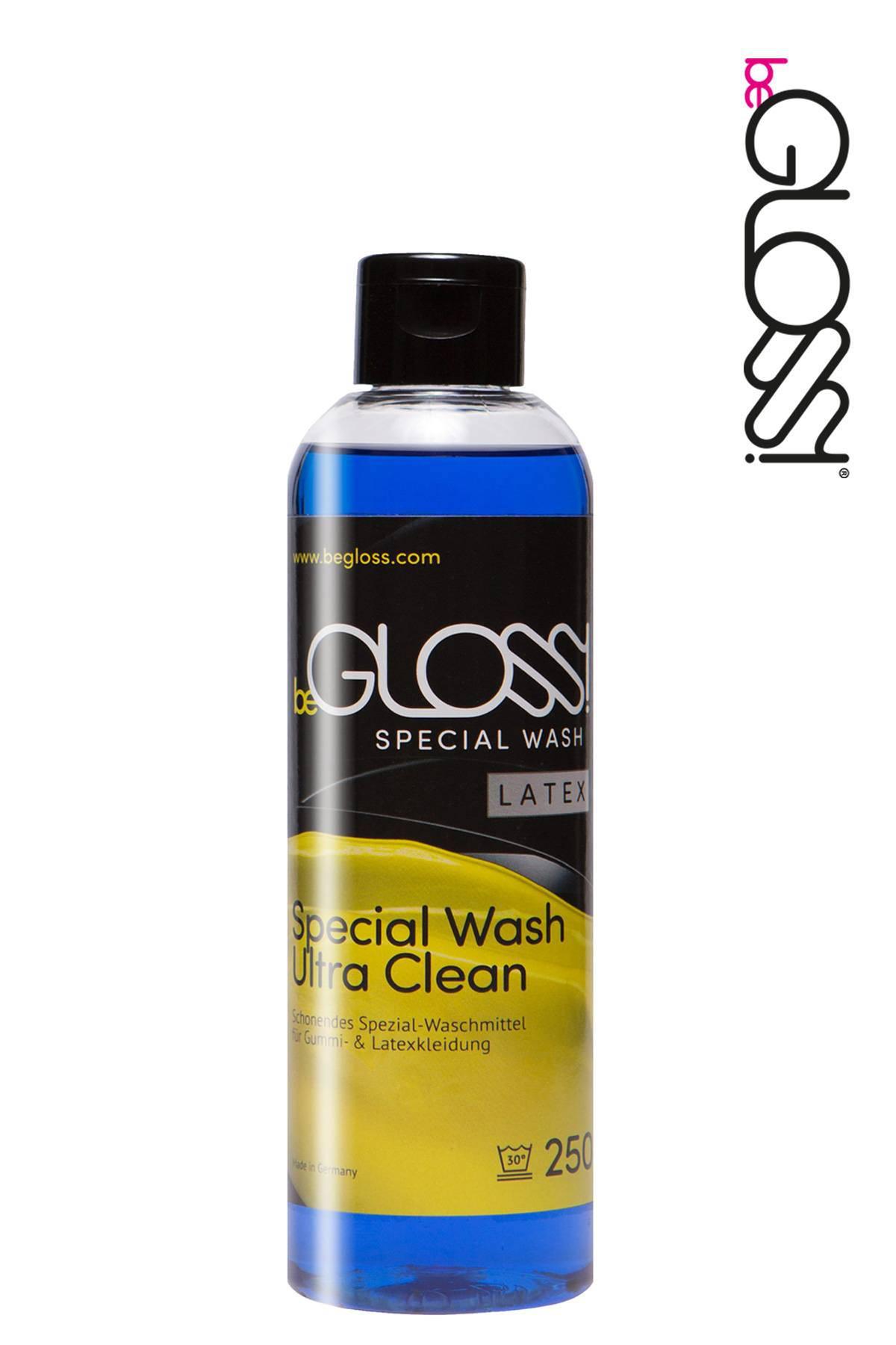 Waschmittel für Latex Kleidung von beGloss in einer 250 ml Kunststoffflasche