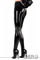 Vorschau: Damen Latex Glanz Strumpfhose aus feinen anschmiegsamen Latex Diese glänzende Latex Strumpfhose wird Sie vom Tragegefühl her überzeugen. Aus dünnem Latex …