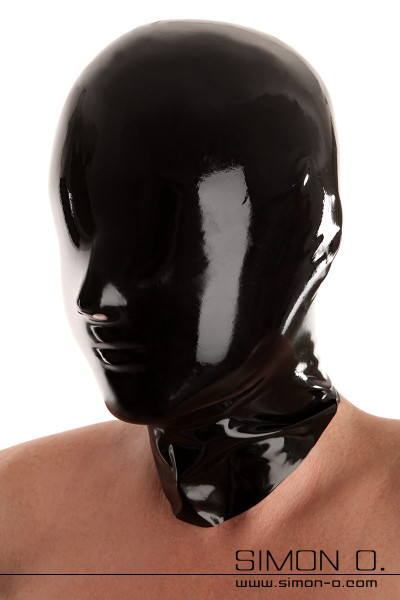 Seamlessly dipped latex mask including chlorination Without eyes and mouth opening. Made by Fetisso from the finest latex. Perfect for bizarre games with …