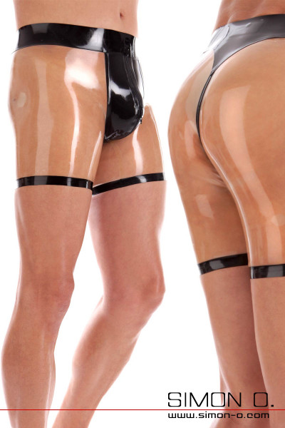 Latex Short - with 3D bulge and anal opening - Play Collection Sexy latex shorts with skin-tight fit. The manhood is gently enclosed by the latex in the new …