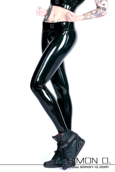 These expertly designed latex leggings for women have many colour combinations available to choose right down to the option to colour of the the zips in the …