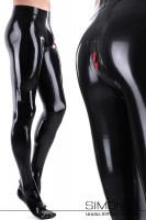 Vorschau: Feine Latex Strumpfhose für Herren Herren Latexstrumpfhose hauchdünn und zart. Auf Wunsch mit Zipp durch den Schritt. Die Strumpfhose wird aus 0.25 mm …