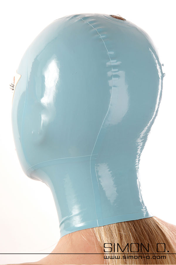 latex mask with hole for own hair