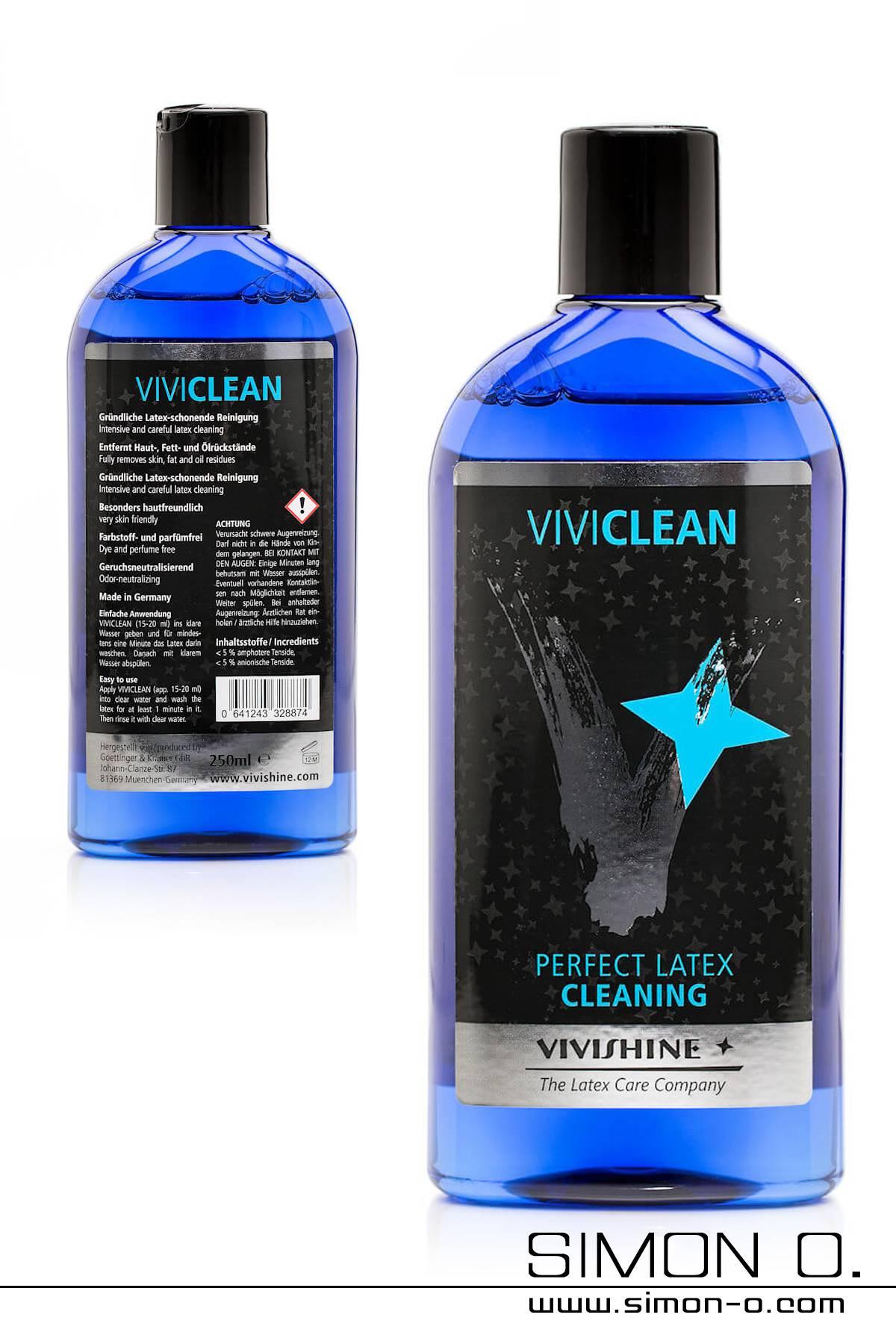 Waschlotion für Latex- und Gummikleidung mit desinfizierender und antibakterieller Wirkung. Gründliche Latexschonende Reinigung bei bester …