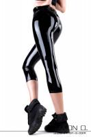 Vorschau: Latex Capri Leggings mit EXPRESS Anfertigung Freche hautenge BASIC LINE Latex-Leggings mit Dreiviertel-Bein – für alle, die es eilig haben und auf …
