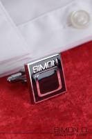 Vorschau: Manschettenknöpfe mit dezentem Simon O. Logo für den täglichen Gebrauch oder einen eleganten Anlass Egal ob Latex Hemd, Latex Bluse oder Stoff Hemd, …