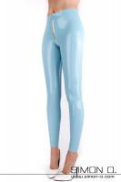 Vorschau: Damen Latex Leggings mit durchgehenden Zipp Unsere beliebte Push up Latex Leggings für Damen gibt es ab jetzt in allen nur erdenklichen Farben. Betonen Sie …
