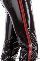 Preview: Regular Fit - Men's latex jeans with pockets These latex trousers will conform to your body in every line. Available in many colours. With the …