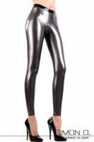 Figure Shaping Skin Tight Latex Leggings