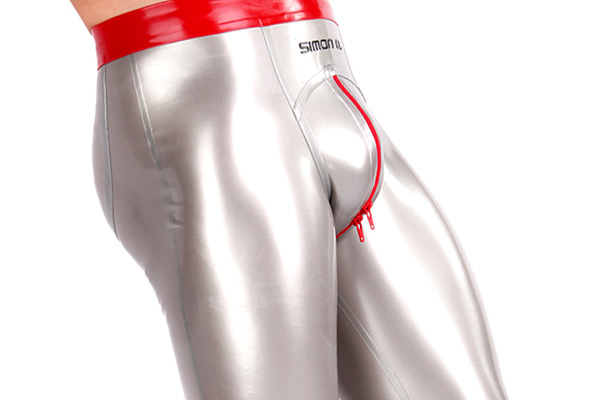 Push up Latex Leggings für Herren