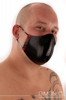 Vorschau: Mund und Nasenschutz - Wendemaske - beidseitig tragbar Dieser stylische Mund und Nasenschutz findet seine stabile Form einer Schale durch die Verwendung von …