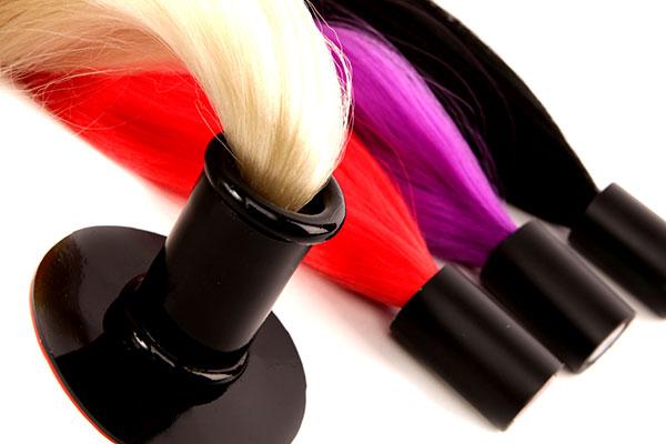 Haarteile für Latex Masken