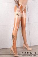 Vorschau: Hautenge Latex Strumpfhose mit Slipteil Diese Latex Strumpfhose wird aus feinen Latex hergestellt und hat eine sexy Strumpfoptik ohne das Problem zu haben …