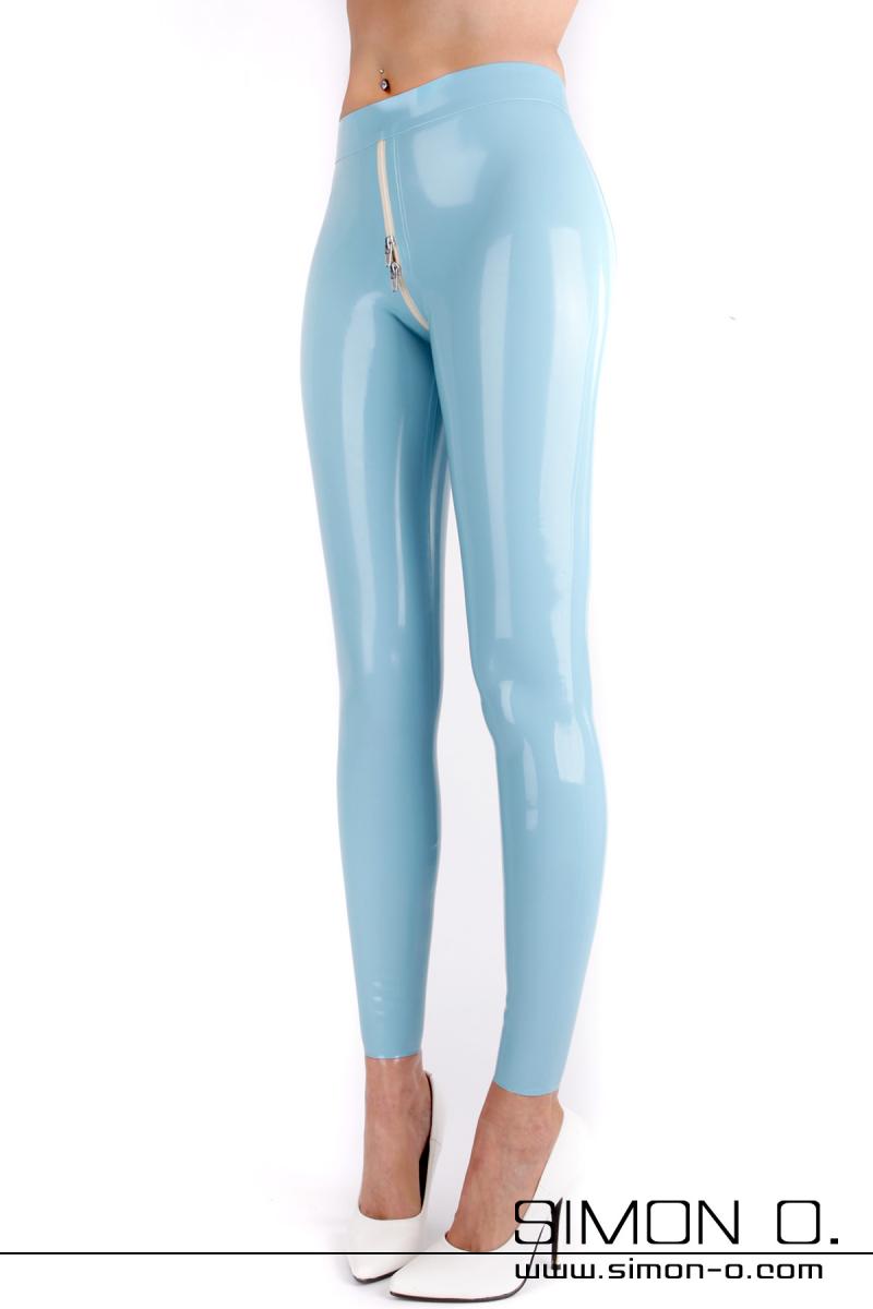 Damen Latex Leggings mit durchgehenden Zipp Unsere beliebte Push up Latex Leggings für Damen gibt es ab jetzt in allen nur erdenklichen Farben. Betonen Sie …