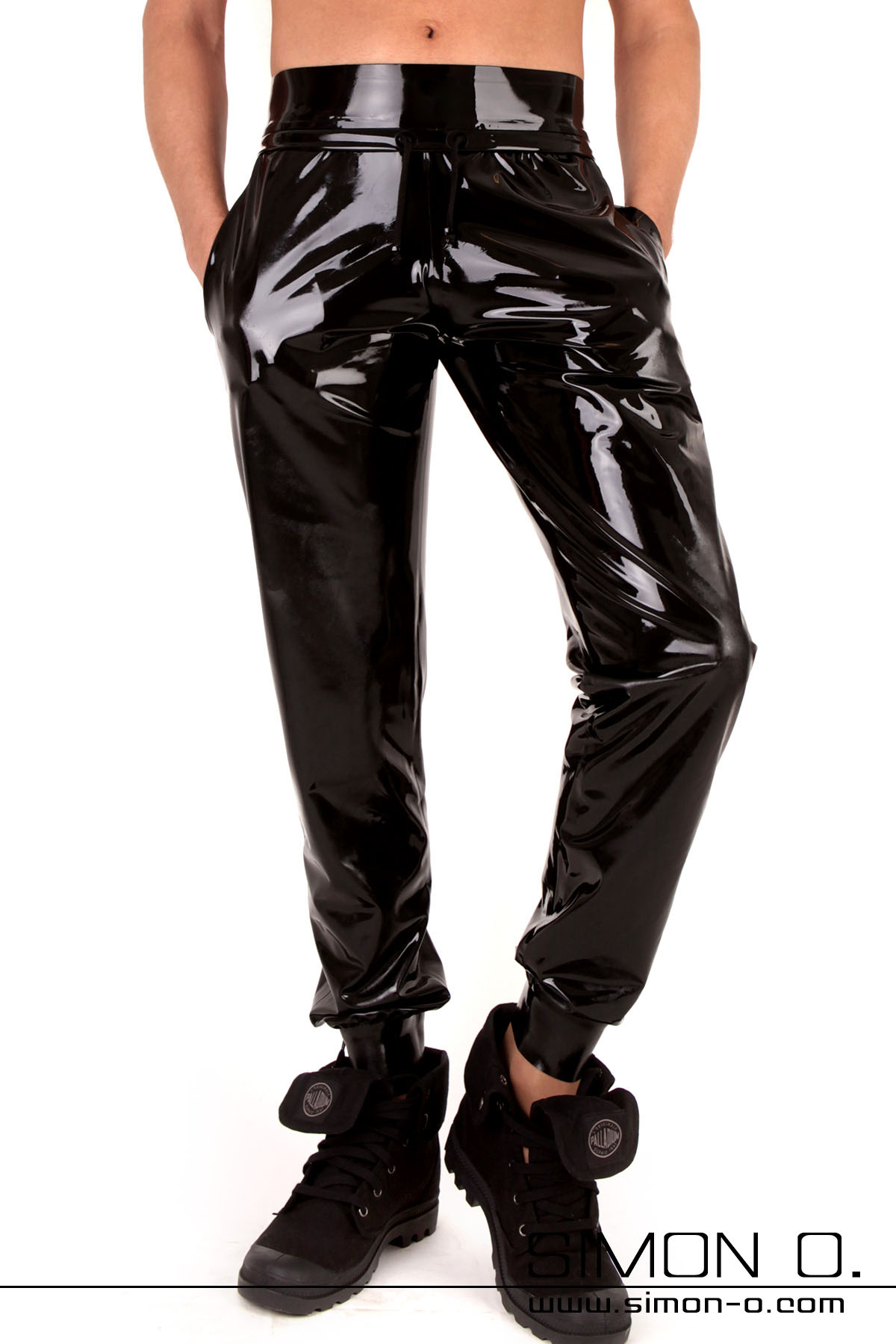 Comfortable Latex Sweat pants with pockets These trousers are the ultimate latex sweat pants for all people minding their expenditures with express tailoring, …