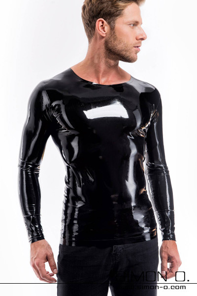 Tight latex shirt with round neckline and long sleeves For inexperienced fetishists it might be a little bit harder to get in and therefore we simply …