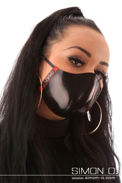 Mouth and nose protection - reversible mask - wearable on both sides This stylish mouth and nose protector finds its stable shape of a bowl by using very …